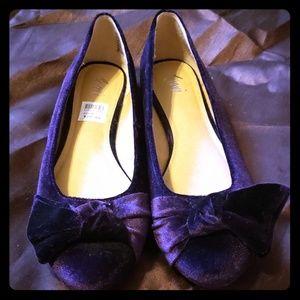 Velvet dark purple